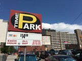 Can you believe this? Parking in downtown Denver for only $14!