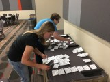 Getting name tags ready for Affiliate Summit
