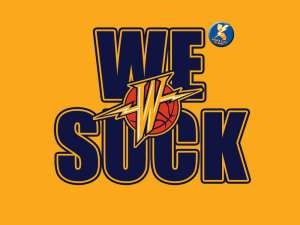 We Suck Warriors logo