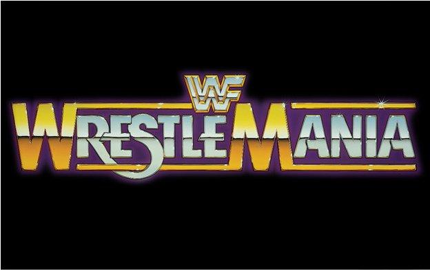 Original WWF WrestleMania logo
