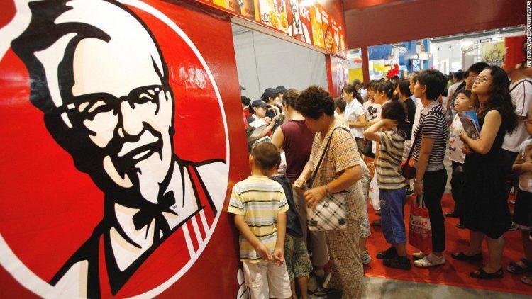 KFC in Chinia
