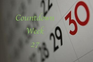 Countdown to 195 Week 27
