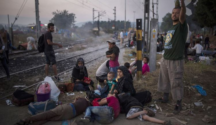 Syrian Refugees in Greece
