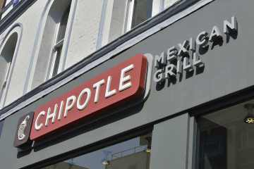 Chipotle Mexican Grill restaurant.