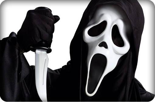 Scream the movie's villian Ghostface