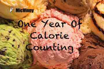 One year of calorie counting with MicVinny