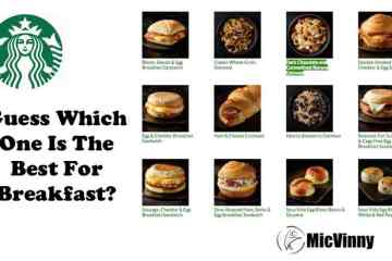 guess which starbucks item is the best for breakfast from starbucks? Display with several breakfast options from micvinny