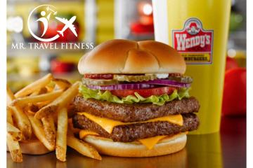 Creating a healthier wendy's value meal by Mr. Travel Fitness