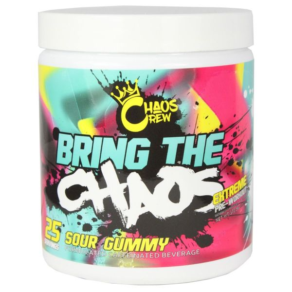 CHAOS CREW – Bring the Chaos Pre-Workouts 4