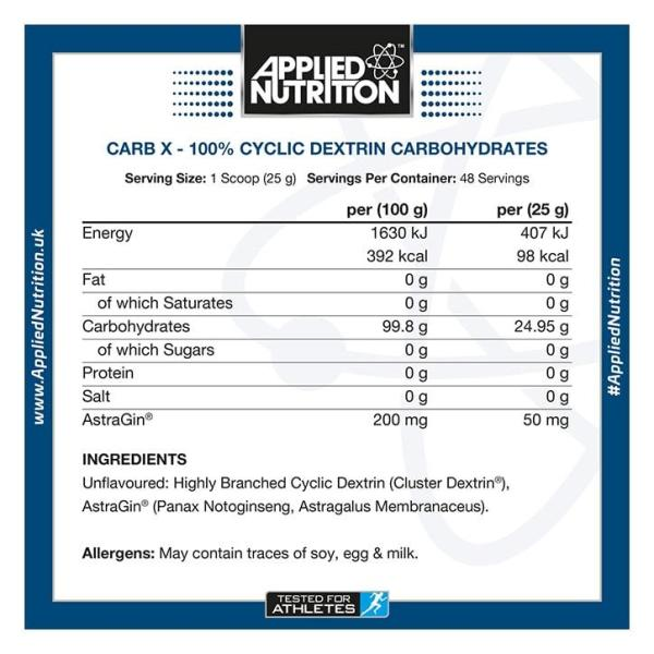 APPLIED NUTRITION – CarbX Intra-Workout 4