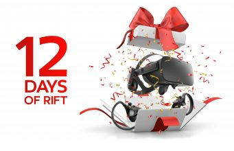 fbce7d53bf1 Oculus  12 Days of Rift Sweepstakes Could Win You a New Rift