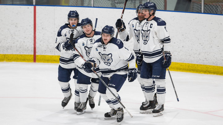 Mount Royal takes the ice in double overtime, 5-4 - Mount Royal University
