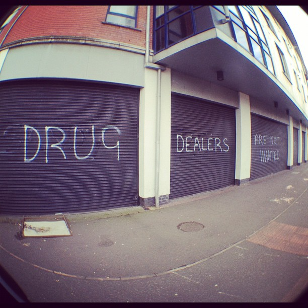 20120202 Drug dealers are not wanted