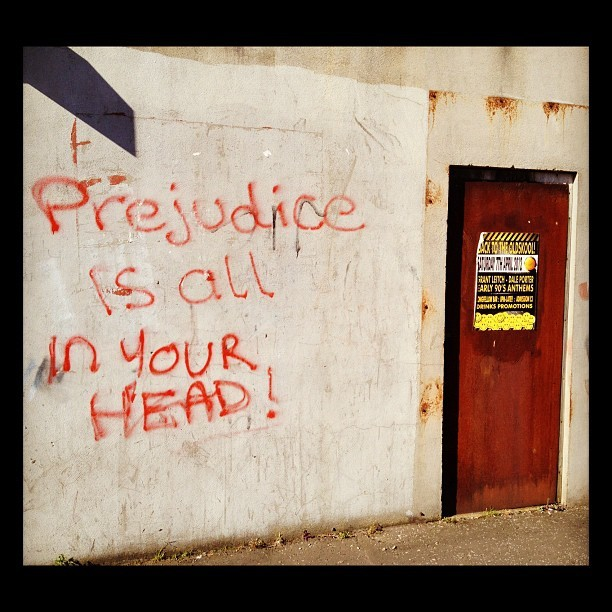 20120414 Prejudice is all in your head