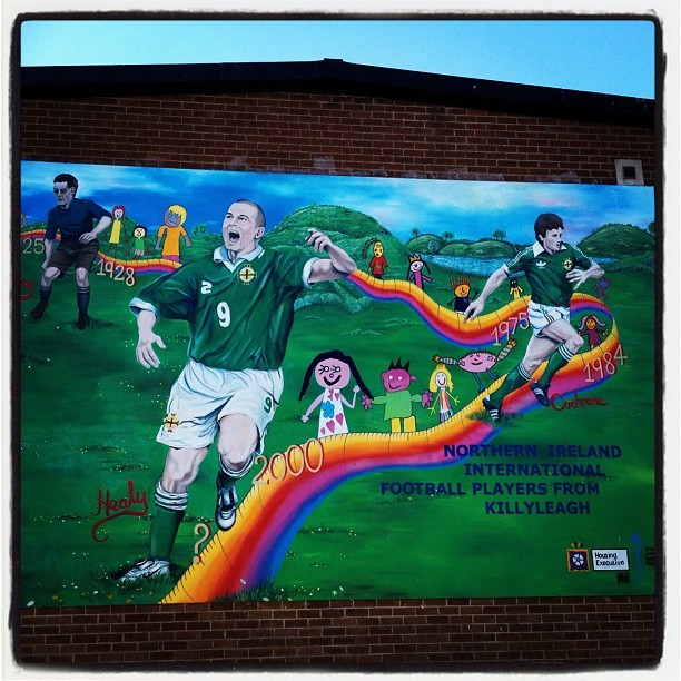 20120526 Northern Ireland football players