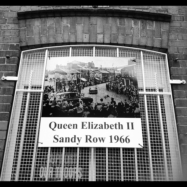 20120626 Queen Elizabeth II Sandy Row 1966