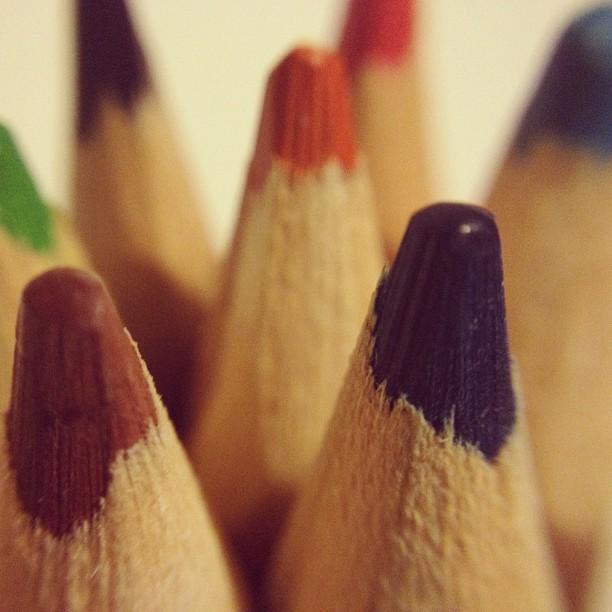 20120730 Jumbo coloured pencils