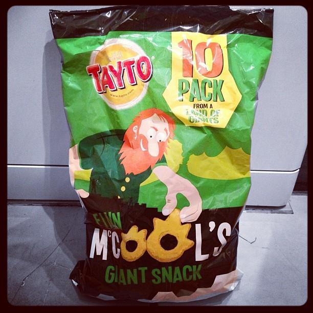 20120910 Finn McCools Giant Snack