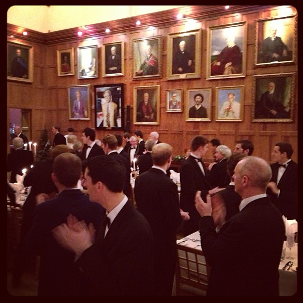 20121207 A fine Mens Dinner