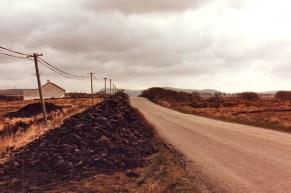 Turf (peat), Ring of Kerry, Co. Kerry, Ireland