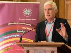 Colin CRAIG gives tribute (c) Allan LEONARD @MrUlster
