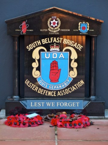South Belfast Brigade. Memorial, Sandy Row Tour, Belfast, Northern Ireland http://www.sandyrow.co.uk/