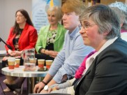 Kellie ARMSTRONG, Cecil LINEHAN, Paddy SMYTH, and Lorna McALPINE (c) Allan LEONARD @MrUlster