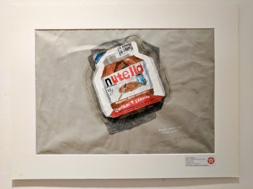 Nutella Sachet (2016) by Robert MADDEN. Texaco Children's Art.
