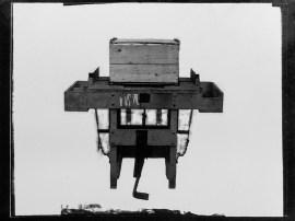 Machine. Mr Turner, Stormont. 25 March 1938. Order 11300 = pictures of 'sprayer, boxes, machine, buds'. T3395/4HP/81-113 (alt. T16/297). Allison Collection, PRONI, Belfast, Northern Ireland.