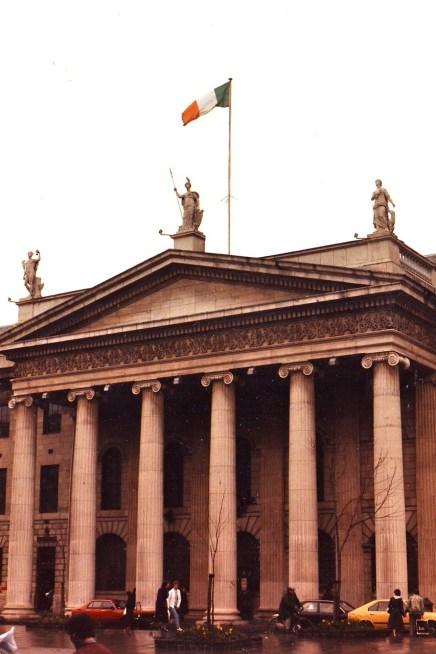 General Post Office, O'Connell Street, Dublin, Ireland