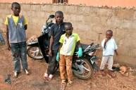 Posing. Kaduna, Nigeria.