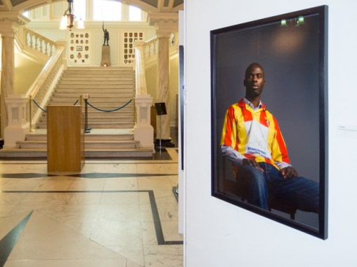 Belonging Project exhibition, Belfast City Hall