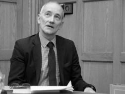 Arthur AUGHEY. John Hume: Irish Peacemaker book launch, Canada Room, Queen's University Belfast, Northern Ireland.