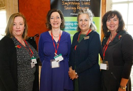 Catherine McLAUGHLIN, Kate LESSLAR, Julia SCOTT, and Patricia McCLURE