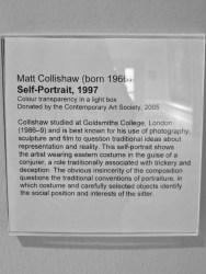 Self-Portrait (1997) by Mat COLLISHAW.