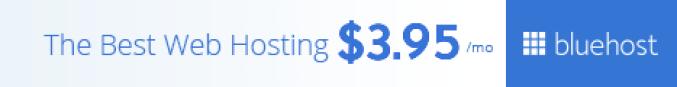 get webhosting on bluehost.