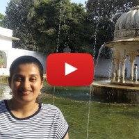 Video: Fountains @ Sahelion Ki Bari in Udaipur on my wheelchair