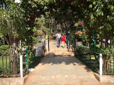 Bad placement of ramp at step garden, Bandra Fort