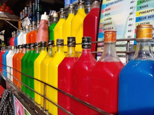 Choose from simple, milkmaid and rabdi ICE GOLA