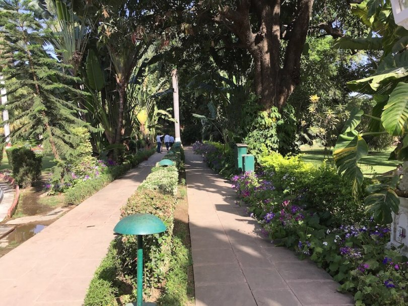 Accessible pathways at Sahelion Ki Bari