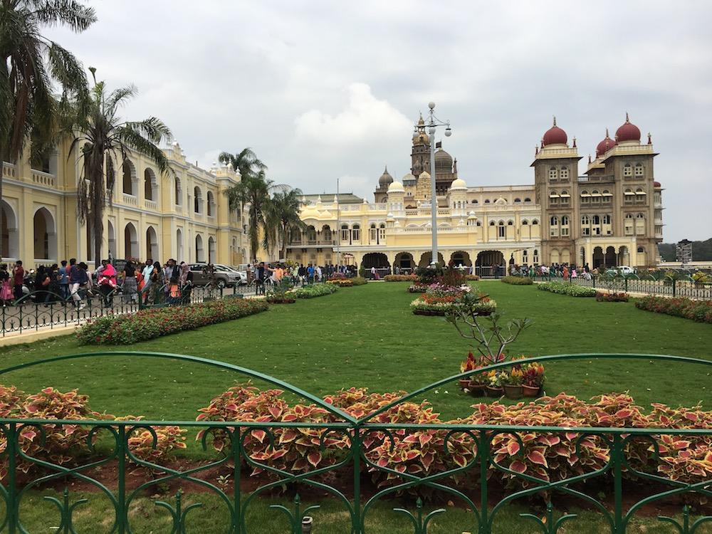Periphery of Mysore Palace