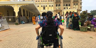 Wheeling towards Mysore Palace