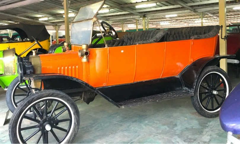 Ford T, a 1910 model from USA