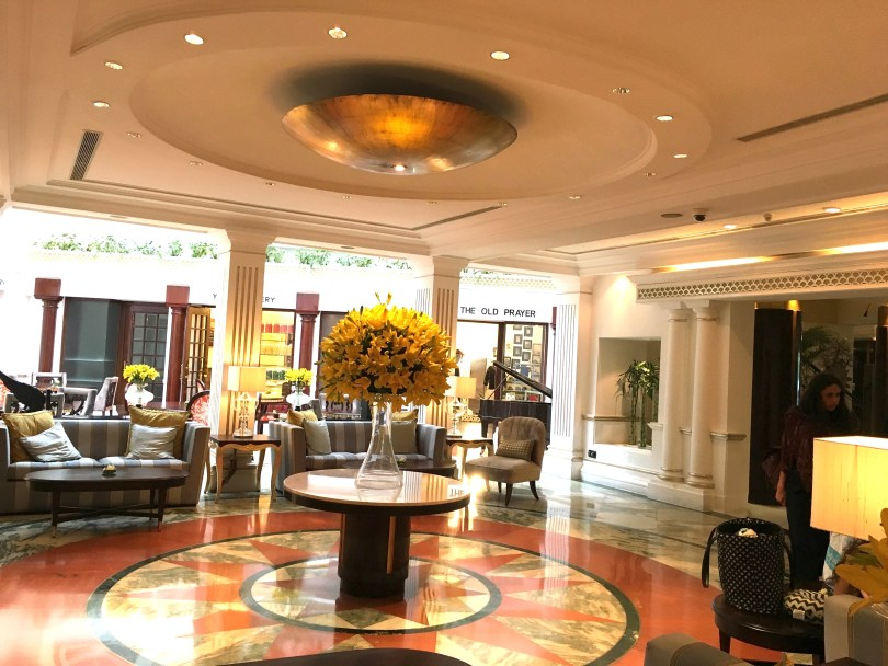 The Claridges lobby