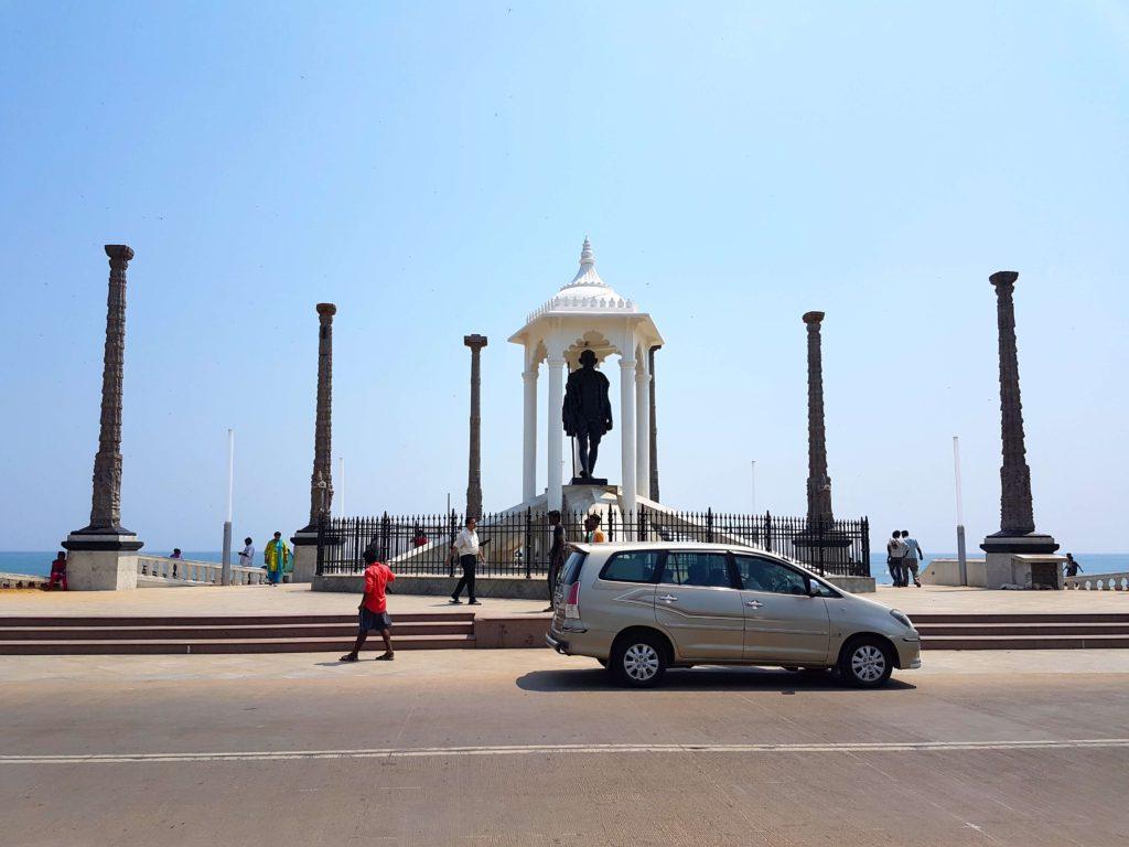 Mahama Gandhi statue