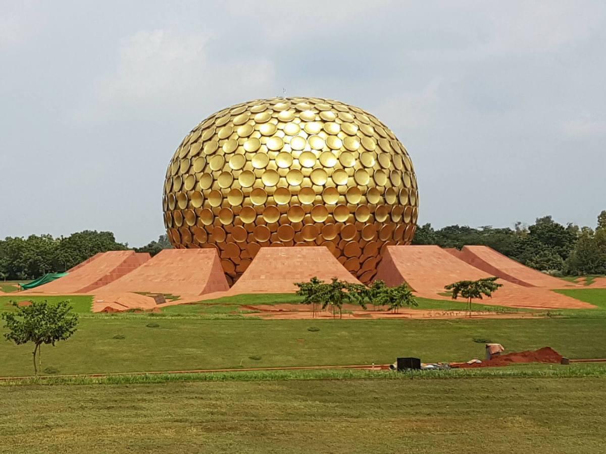Matrimandir at Auroville in Pondicherry