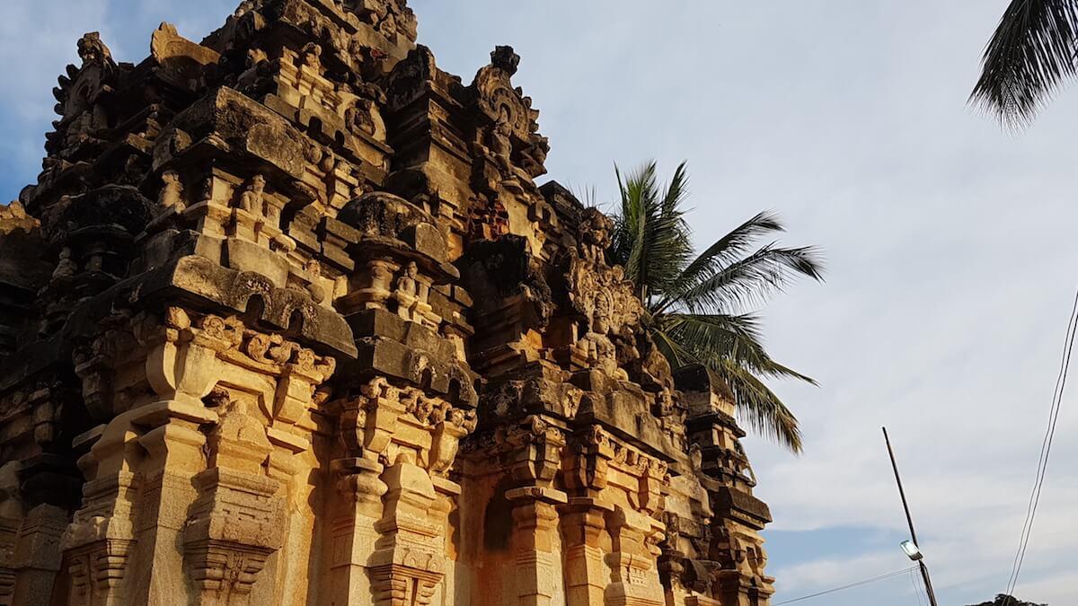 A shrine from Ramalingeshwara temple complex