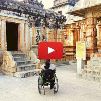 Video: Ramalingeshwara temple near Bangalore, Kolar