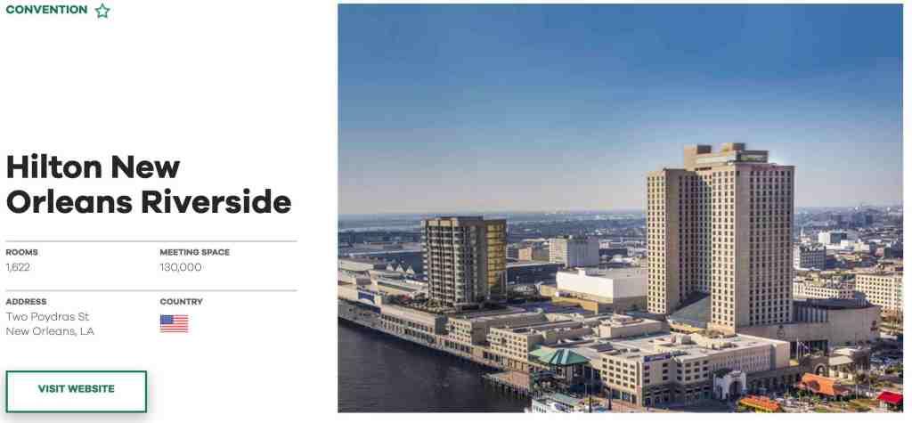Hilton New Orleans Riverside - PK Stock & Real Estate Analysis