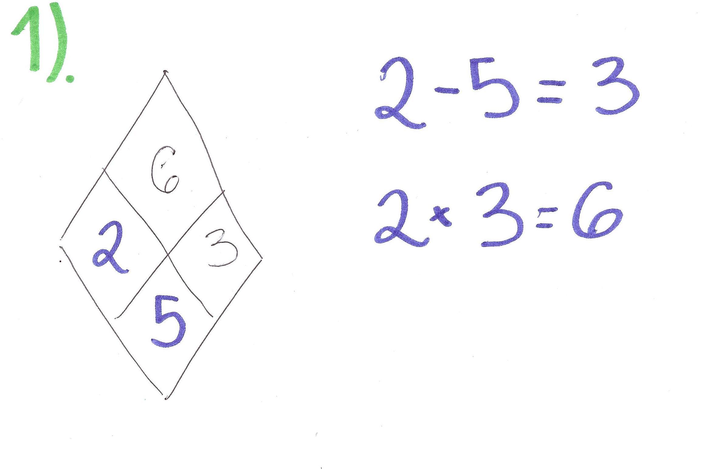 Diamond Problem Equation